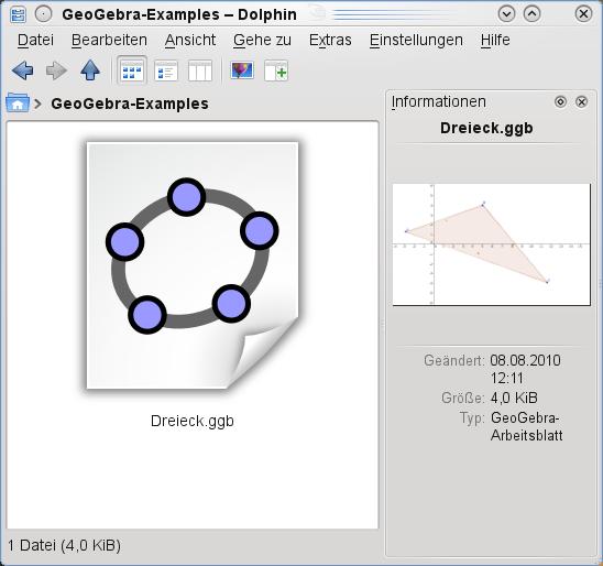 GeoGebra for openSUSE