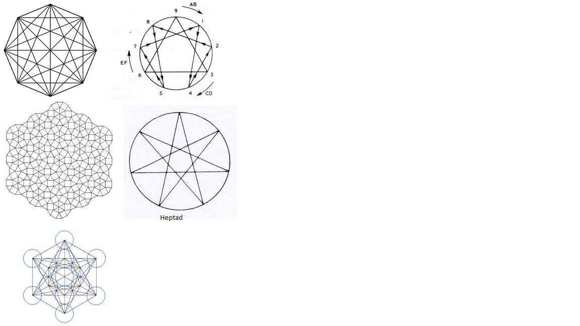 Complex Geometric Shapes Sacred Geometry
