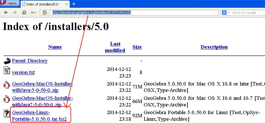 Error messages after installing GeoGebra5 on linux