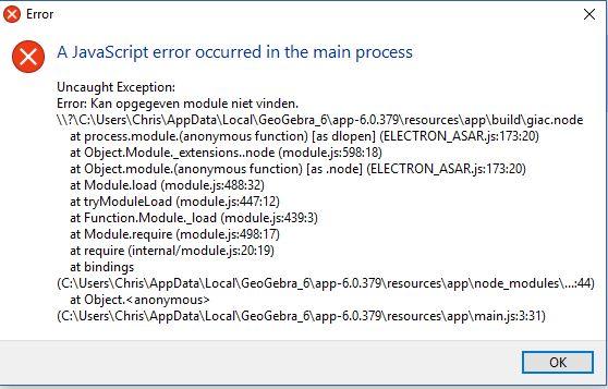 Javascript error Geogebra 6-0-379-0